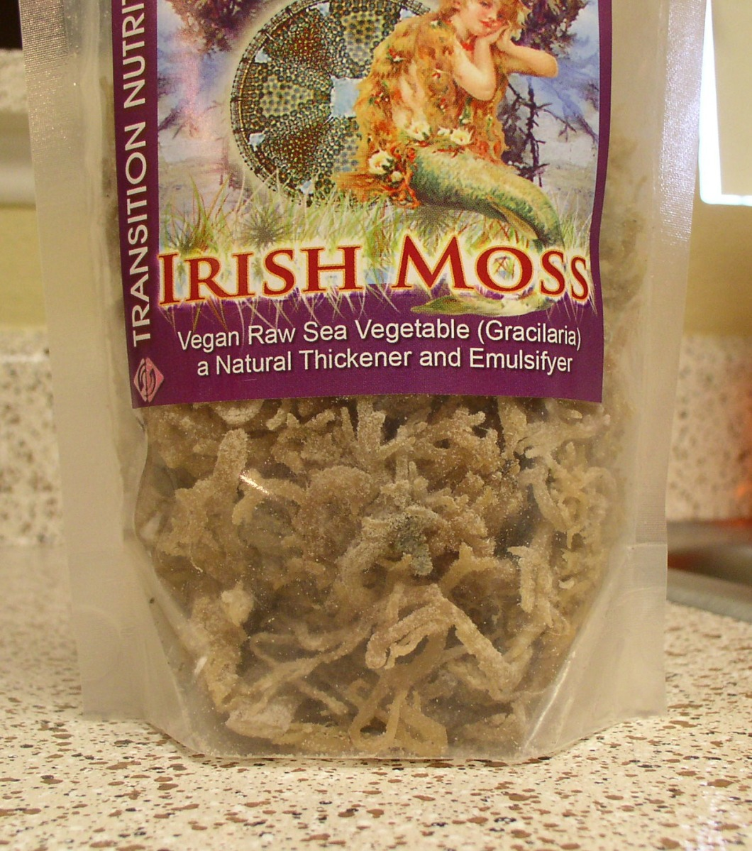 Irish Moss & Almond Milk
