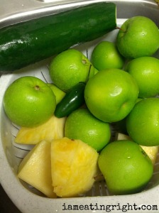 Jalapeno Cooler Juice Ingredients