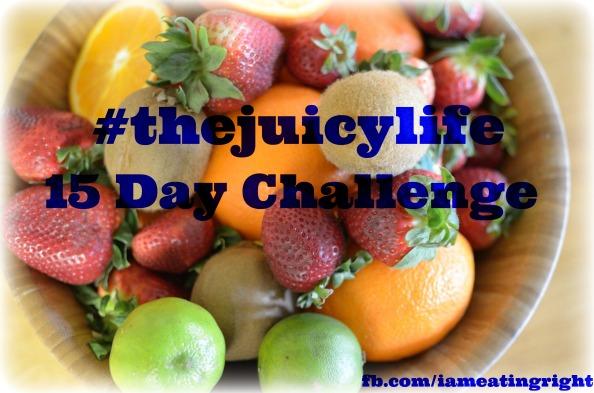 #thejuicylife 15 Day Challenge